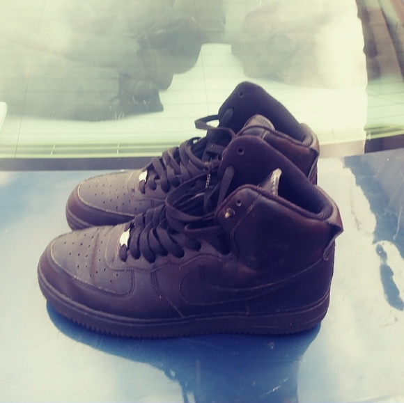 Nike Other - Black air force 1 sz 10